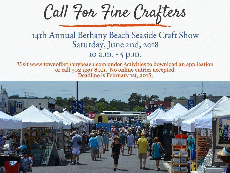 2018 Seaside Craft Show