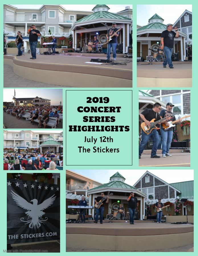 2019 Concert Series Highlights The Stickers