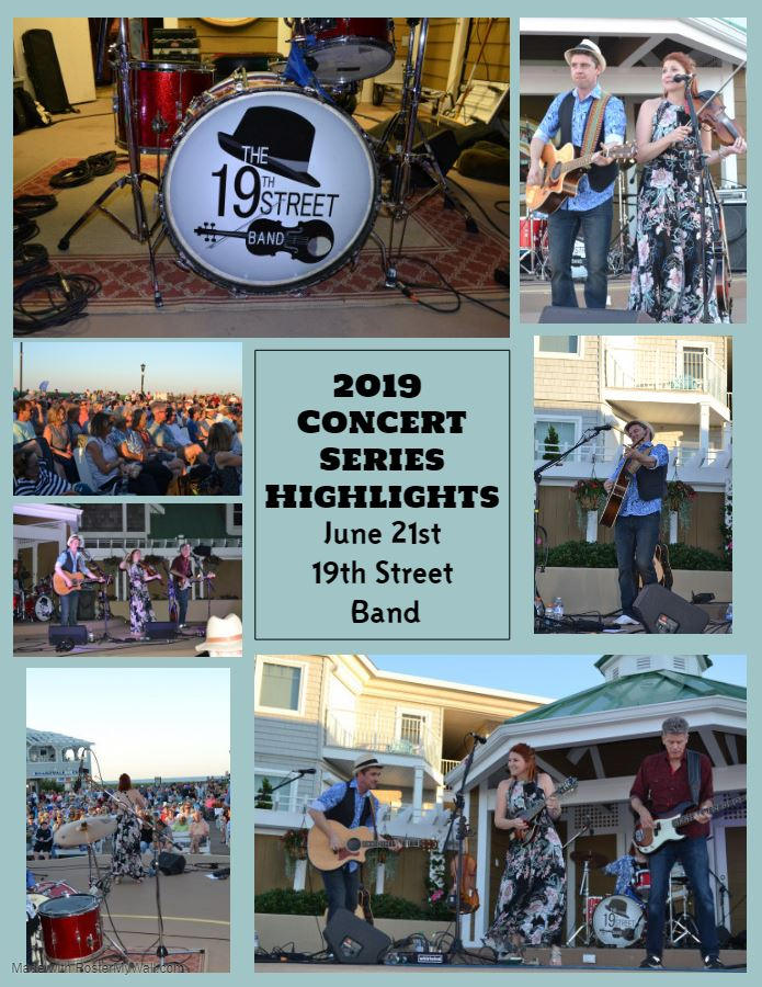 2019 Concert Series Highlights 19th Street Band