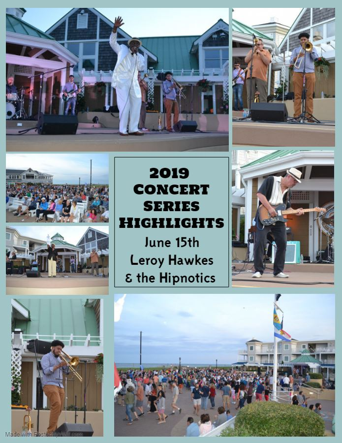 2019 Concert Series Highlights Leroy Hawkes and the Hipnotics