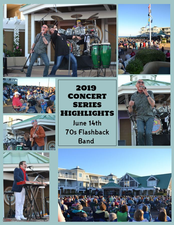 2019 Concert Series Highlights 70s Falshback Band