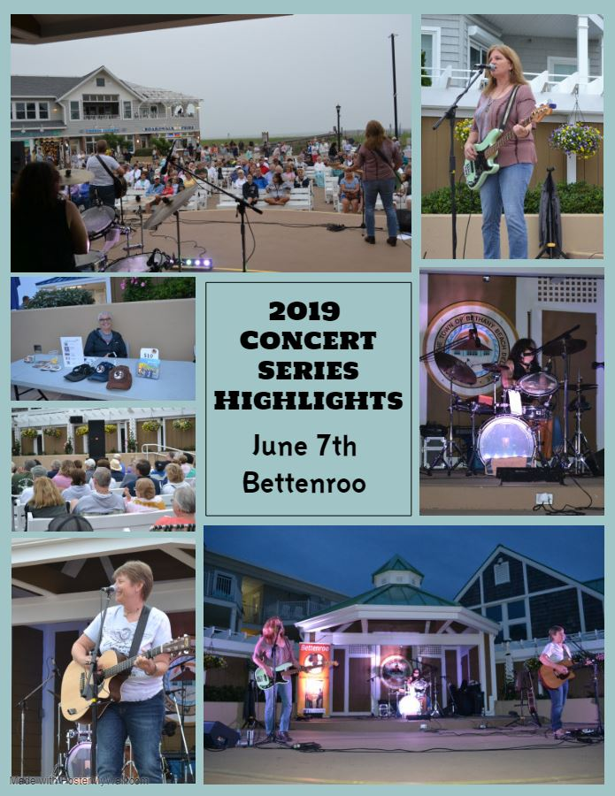 2019 Concert Series Highlights Bettenroo
