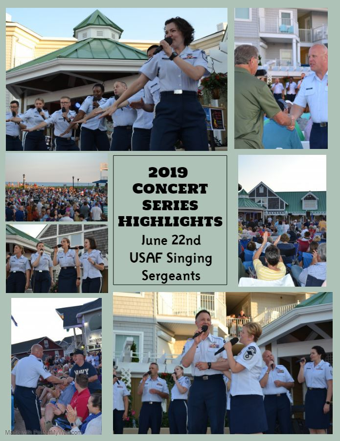 2019 Concert Series Highlights usaf singing sergeants