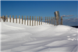 snow drift dune fence