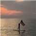 July 4th Paddleboarder