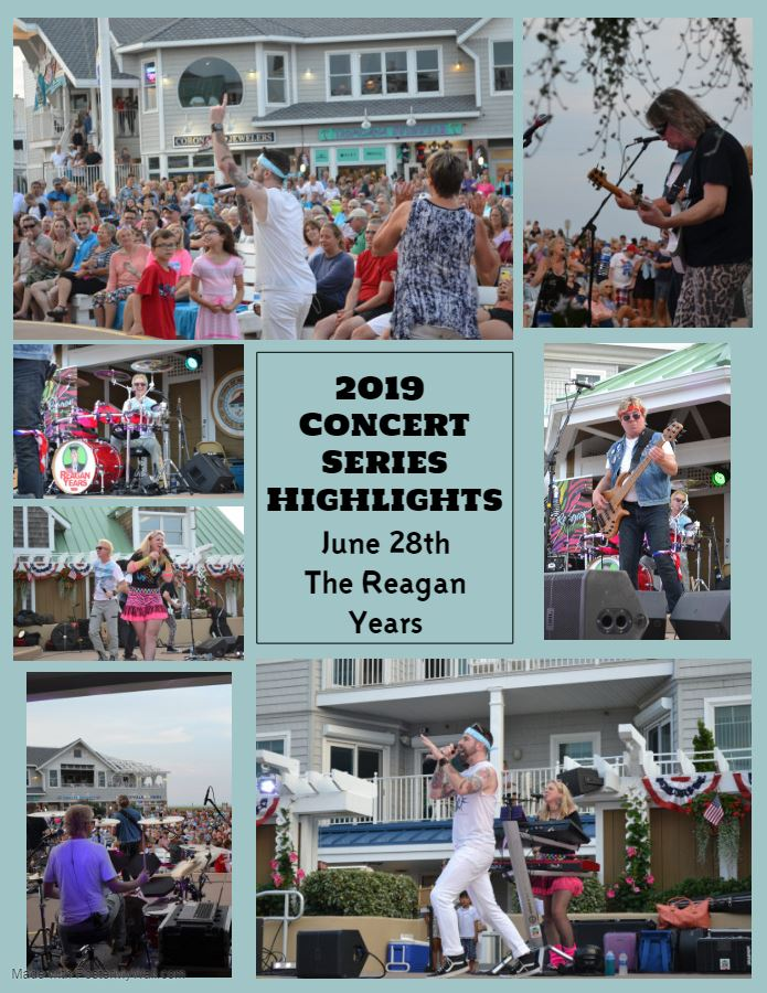 2019 Concert Series Highlights The Reagan Years