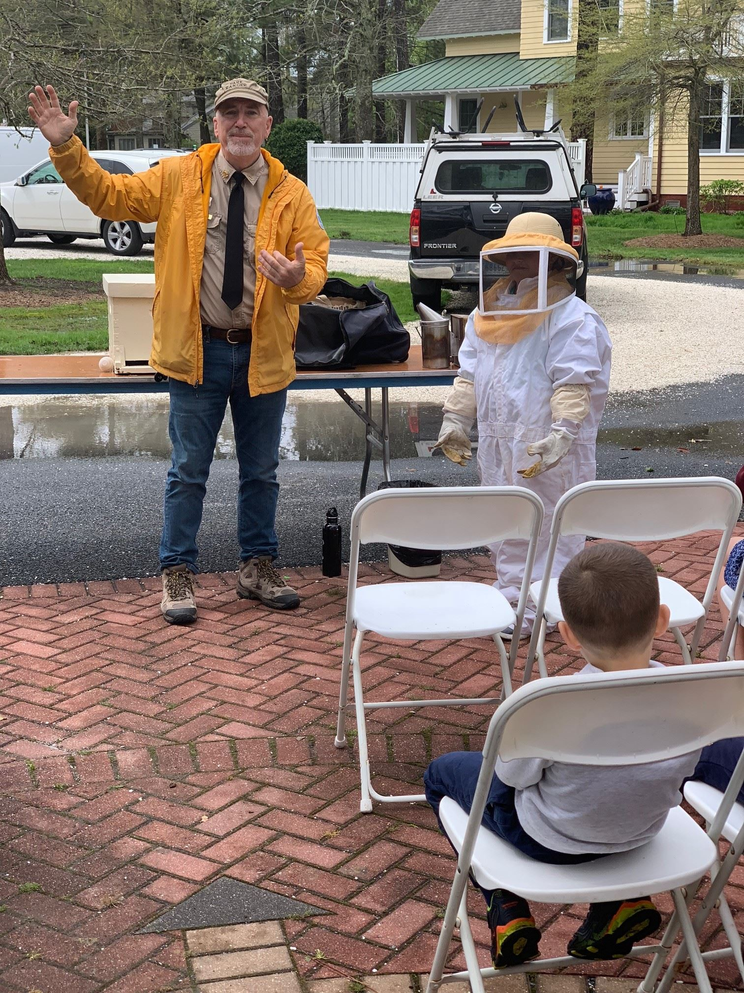 Park Ranger Bob and his Bees